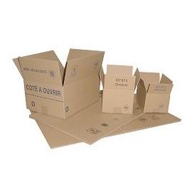 Carton simple cannelure 350x230x250mm